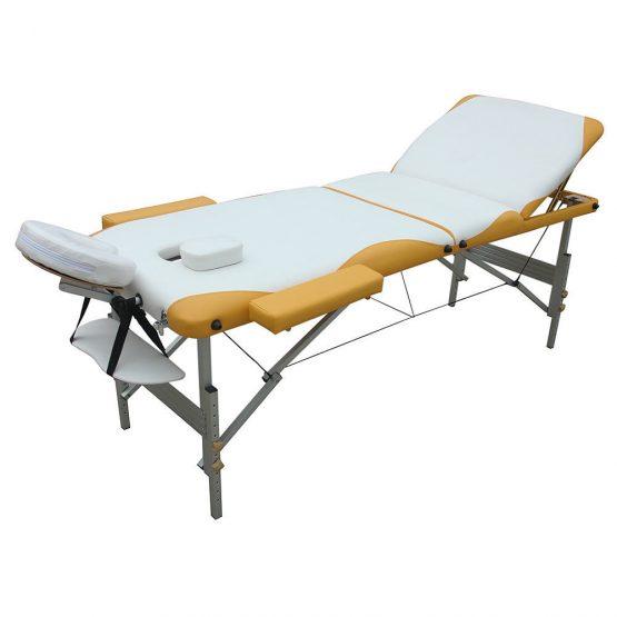 3 delna ALU masažna miza